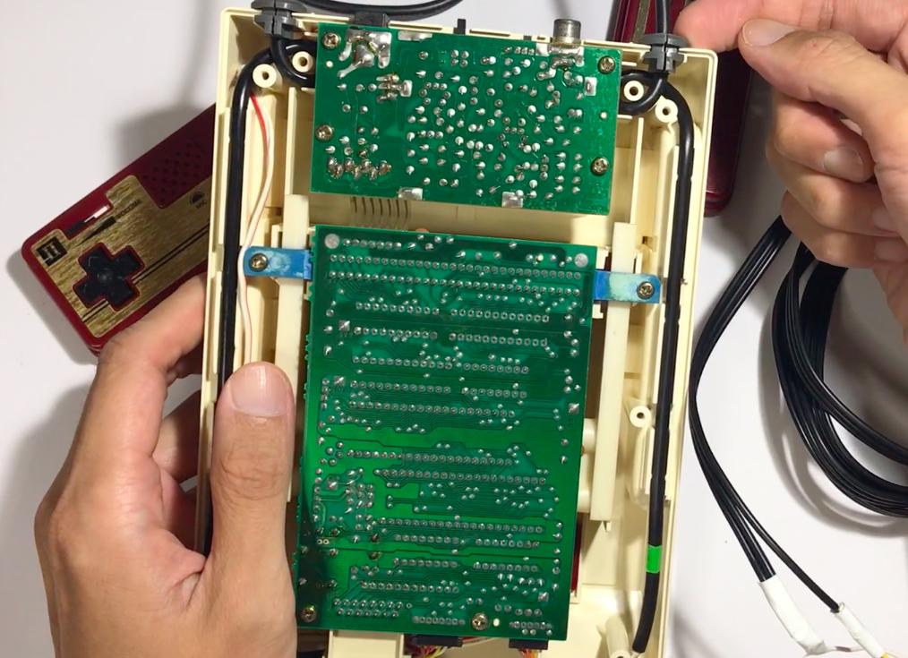【旧型基盤ファミコン改造】AV化キット天下人の取り付け方法